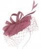 Failsworth Millinery Sinamay Pillbox in Orchid