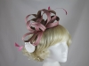 Hawkins Collection Two Tone Loops Headpiece in Oyster & Pink