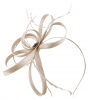 Failsworth Millinery Sinamay Loops Fascinator in Oyster