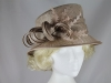 Hawkins Collection Nested Loops Occasion Hat in Oyster