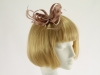 Palest Tan Fascinator