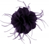 Failsworth Millinery Feather Fascinator in Pansy
