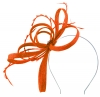 Failsworth Millinery Sinamay Loops Fascinator in Papaya