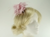 Failsworth Millinery Feather Fascinator in Parfait