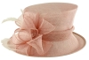 Failsworth Millinery Wedding Hat in Parfait