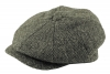 Failsworth Millinery Carloway Flat Cap in Pattern 4615