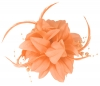 Aurora Collection Flower Fascinator in Peach