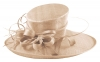 Elegance Collection Ascot Hat in Peach