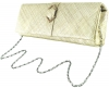 Failsworth Millinery Sinamay Occasion Bag in Pearl-Silver