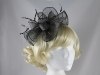 Elegance Collection Sinamay Waves Fascinator