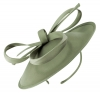 Failsworth Millinery Taffeta Disc in Pewter
