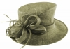Failsworth Millinery Wedding Hat in Pewter