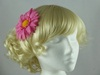 Daisy Fascinator in Pink
