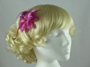 Glitter Flower Fascinator in Pink