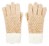 Alice Hannah Alesha Chevron Multi Colour Gloves
