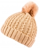 Boardman Sierra Rib Mixed Knit Ladies Beanie Hat