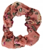 Daisy Daisy Cotton Floral Scrunchy in Pink