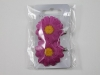 Daisy Hair Clips in Pink