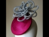 Esther Louise Millinery Crin Smartie Hat in Pink