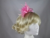 Flower Aliceband Fascinator in Pink