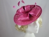 Hawkins Collection Bow Disc Headpiece in Pink