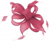 Hawkins Collection Sinamay Fascinator in Pink