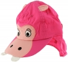 Jiglz Hippo Cap with Neck Protector in Pink