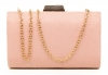Papaya Fashion Clutch Box Bag in Pink