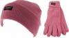 Thinsulate Ladies Beanie Ski Hat with Matching Gloves