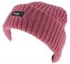 Thinsulate Ladies Chunky Beanie Ski Hat in Pink