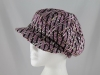 Whiteley Wool Fashion Cap in Pink
