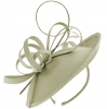 Failsworth Millinery Silk Disc in Platinum