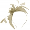 Failsworth Millinery Sinamay Fascinator in Platinum