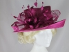 Hawkins Collection Upbrim Occasion Hat in Plum