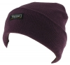 Thinsulate Ladies Beanie Ski Hat in Plum