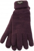 Thinsulate Ladies Gloves in Plum
