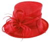 Max and Ellie Occasion Hat in Poppy