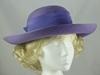 Jacques Vert Purple Wedding Hat