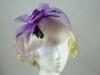 Flower and Veil Fascinator