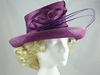 Presen of Barcelona Purple Ascot Hat