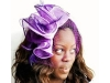 Matthew Eluwande Millinery Olivia in Purple & Lilac