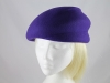 Failsworth Millinery Winter Hat in Purple