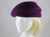 Failsworth Millinery Winter Hat in Plum