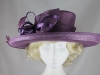 Hawkins Collection Shimmer Loops Events Hat in Purple