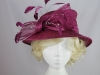 Hawkins Collection Short Brim Wedding Hat