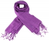 Max and Ellie Luxurious Scarf in Purple