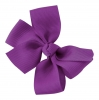Molly and Rose Small Hair Bow in Purple