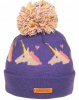 SSP Hats Girls Unicorn Beanie Bobble Hat