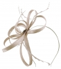 Failsworth Millinery Sinamay Loops Fascinator in Quartz