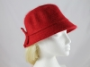 Bow Winter Hat in Red
